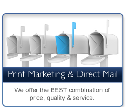 Print Marketing & Direct Mail